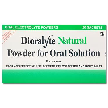 Dioralyte Natural Sachets 20 Pack