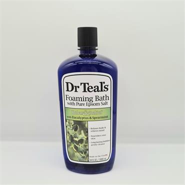 Dr Teals Foaming Bath - Relax & Relief - Eucalyptus & Spearmint - 1000ml