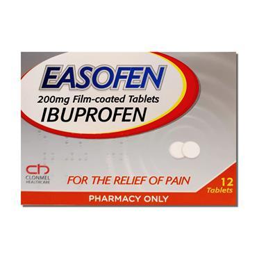 Easofen Ibuprofen 200Mg 12'S