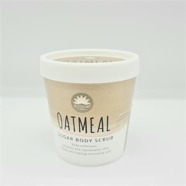 Elysium Sea Salt Body Scrub - Oatmeal