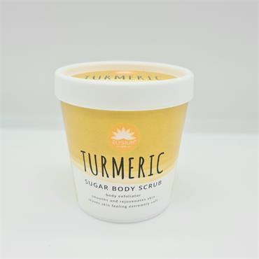 Elysium Sea Salt Body Scrub - Turmeric