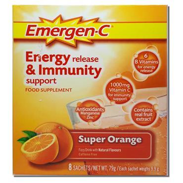 Emergen C Orange 8 Sachets