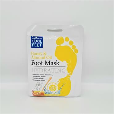 Escenti Foot Mask - Honey & Almond Oil