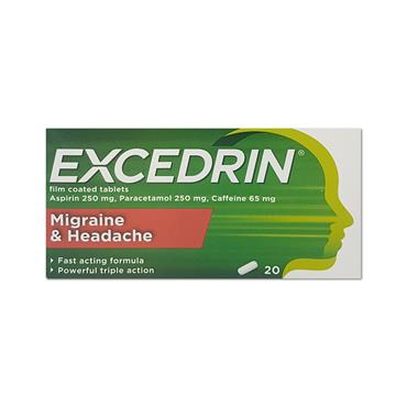 Excedrin 250Mg/65Mg Film Coated Tablets
