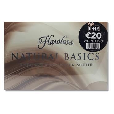 Flawless Natural Basics Eyeshadow & Highlighter Palette