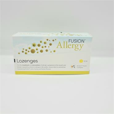 Fusion Allergy Lozenges 24