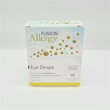 Fusion Allergy Individual Eye Drops 15x0.5ml