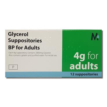 Glycerol Adult Suppo Sitories Bp For Adul
