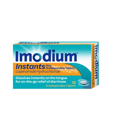 Imodium Instants (Loperamide 2mg) 12 Pack