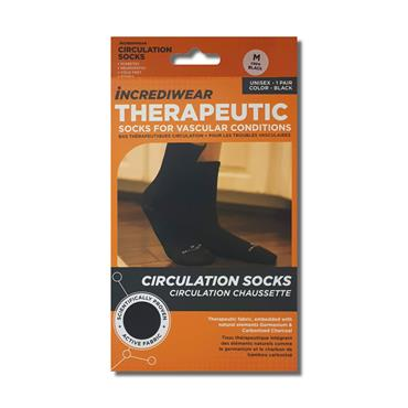 Incrediwear Circulation Socks Medium Black