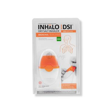Inhalo : DSI Dry Salt Inhaler Bronchial - Lower Respiratory Tract Cleanser