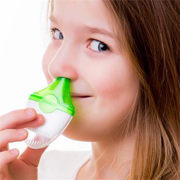 Inhalo : DSI Dry Salt Inhaler Nasal - Upper Respiratory Tract Cleanser