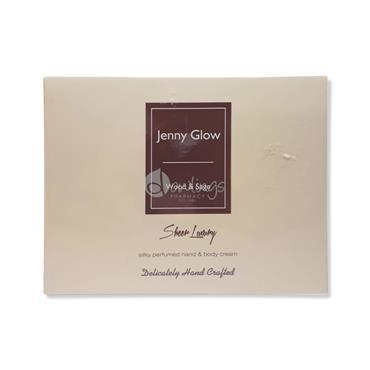 Jenny Glow Silky Perfumed Hand & Body Cream - Wood & Sage