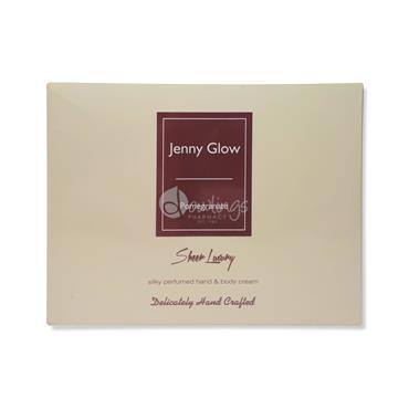 Jenny Glow Silky Perfumed Hand & Body Cream - Pomegranate