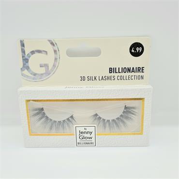 Jenny Glow 3D Silk Lashes Billionaire