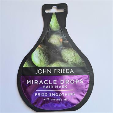 John Frieda Miracle drops Hair Mask - Frizz Smoothing - Avacado Oil