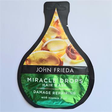 John Frieda Miracle drops Hair Mask - Damage Repairing -Vitamin E Oil