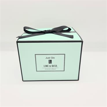 Jenny Glow Scented Candle - Lime & Basil