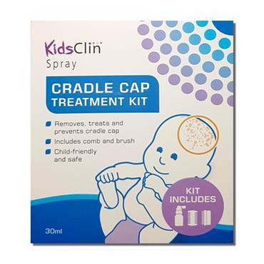 KidsClin Spray Cradle Cap Treatment Kit