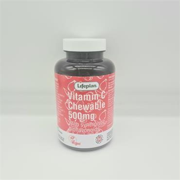 Lifeplan Vitamin C Chewable 500g - 90 Tablets