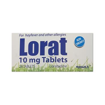 Lorat 10Mg Tablets Loratadine 28 Pack
