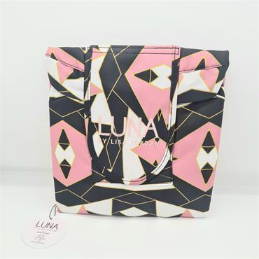 Luna Beauty Bag - Aztec