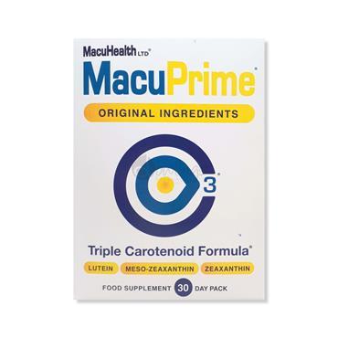 Macuhealth Macuprime Triple Carotenoid Formula - 30 Pack