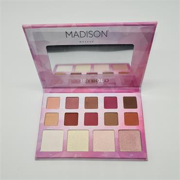 Madison Berry Bold - Eyeshadow & Highlighter Palette
