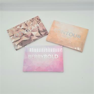 Madison City Glam, Contour and Berrybold Bundle - 3 Palettes