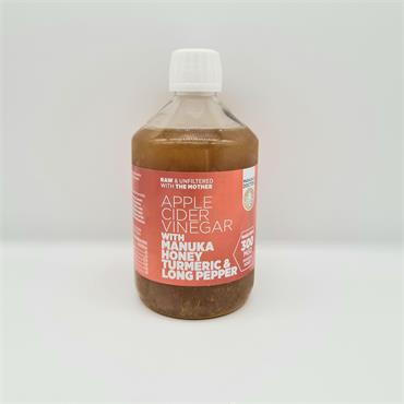 Manuke Doctor Apple Cider Vinegar With Manuka Honey, Turmeric & Long Pepper