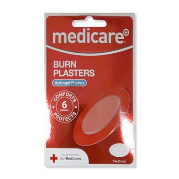 Medicare Burn Plasters 6 Pack