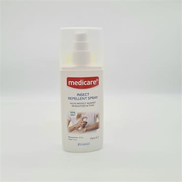 Medicare Insect Repellant Spray 50% Deet 75ml