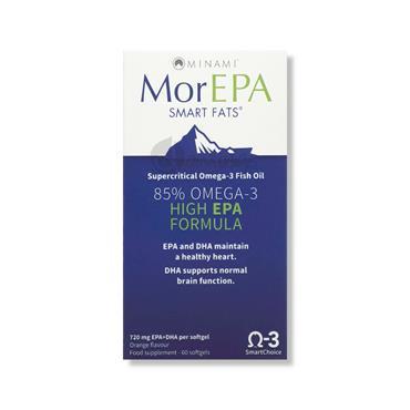 MorEPA Smart Fats 85% Omega 3 High EPA Formula