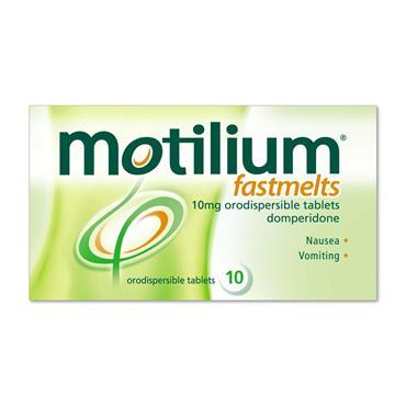 Motilium Fastmelts 10mg Tablets 10 Pack