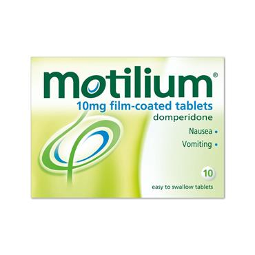 Motilium Tablets 10 Pack