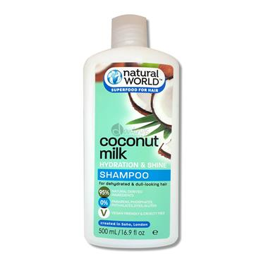 Natural World Coconut Milk Waver Shampoo