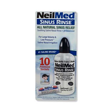 Neilmed Sinus Rinse Starter Kit 10 Pack