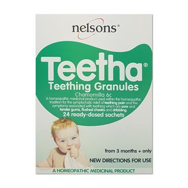 Nelsons Baby Teetha Granules 24 Sachets