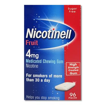 Nicotinell Gum Fruit 2Mg Fruit 96S
