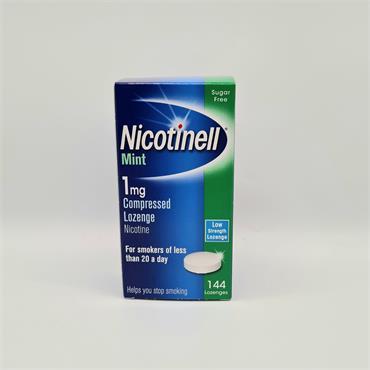 Nicotinell Mint 1mg Lozenge 144's