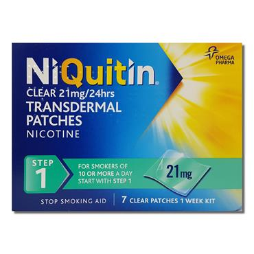 Niquitincq Niquitin Clear Step1 7 Days
