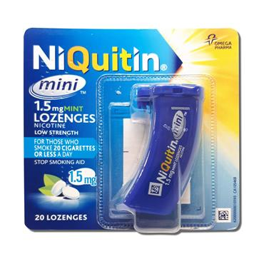 Niquitin Mini Loz 1.5Mg 20S