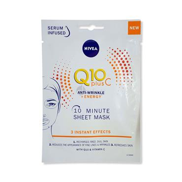 Nivea Q10 PLus C - 10 Minute Sheet Mask