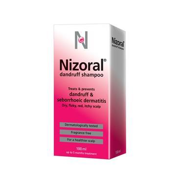 Nizoral Dandruff Shampoo 2Mg/Ml Ketoconazole 100Ml