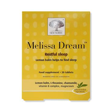New Nordic Melissa Dream Restful Sleep 20 tablets