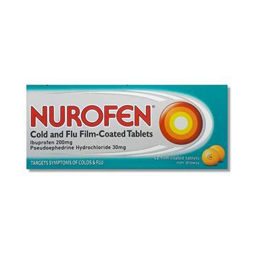 Nurofen Cold N Flu 12 Pack P