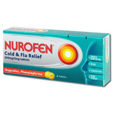 Nurofen Cold N Flu 24 Pack