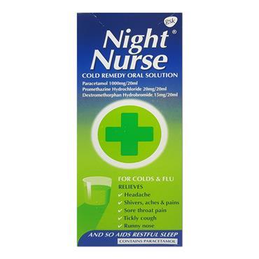 Nurses Beechams Night Nurse Liquid 160ml