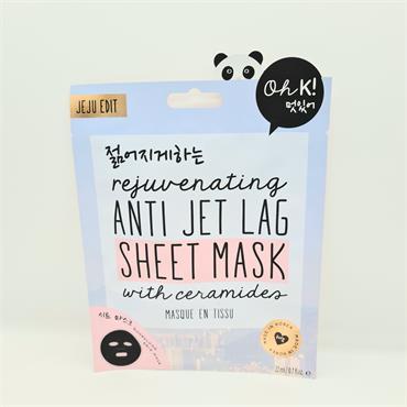 Oh K! Anti Jet Lag Sheet Mask - Rejuvenating