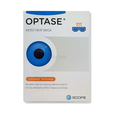 Optase Moist Heat Mask  - Effective relief from dry eye, blepharitis, styes